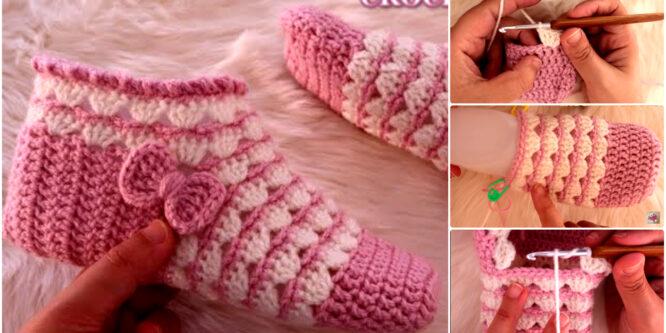 Como tejer Botas a Crochet en todas las tallas