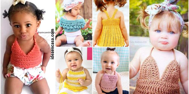 Blusa para Bebé a Crochet – Como ampliar las tallas