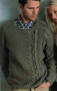 Seis Patrones para suéter Masculino