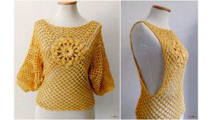 Como tejer Chaleco - Vestido playero - Blusa a Crochet