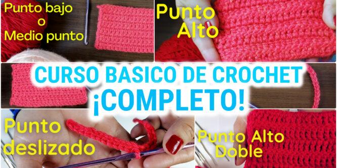 Curso básico de crochet COMPLETO